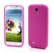 Flexible Silicone Skin Protector Case for Samsung Galaxy S4 IV S4g i9500 i9502 i9505 - Rose