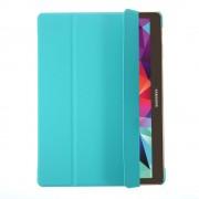 Δερμάτινη Θήκη Βιβλίο με Βάση Στήριξης για Samsung Galaxy Tab S 10.5 T800 T805 - Γαλάζιο