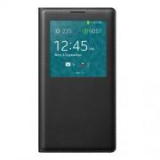Δερμάτινη Θήκη Βιβλίο Smart Cover με Ενσωματωμένο Καπάκι Μπαταρίας για Samsung Galaxy Note 3 N9005 N9002 N9000 - Μαύρο