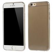 Γυαλιστερή Θήκη Σιλικόνης TPU 0.6mm για iPhone 6 / 6s - Γκρι