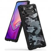 Ringke Fusion-X Samsung Galaxy S10 Camo (Moro) Black